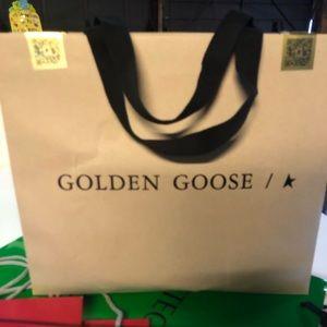 Golden Goose shopping/gift bag